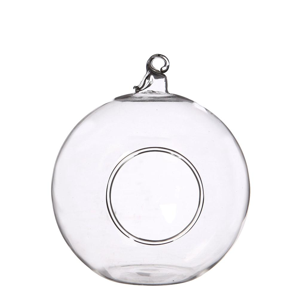 BOULE VERRE SUSPENSION_X6 PIECES_10CM_28051