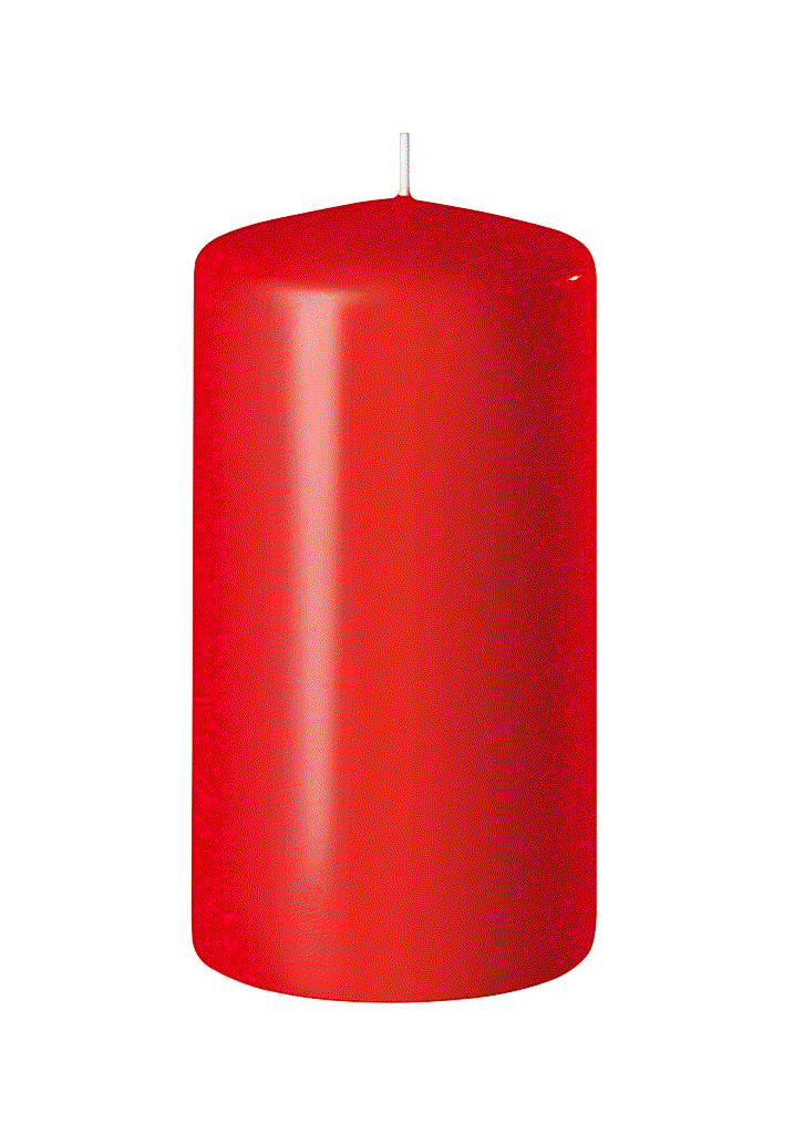BOUGIE CYLINDRIQUE 120/60 x12_ROUGE_SAFE CANDLE_8-T12060-12