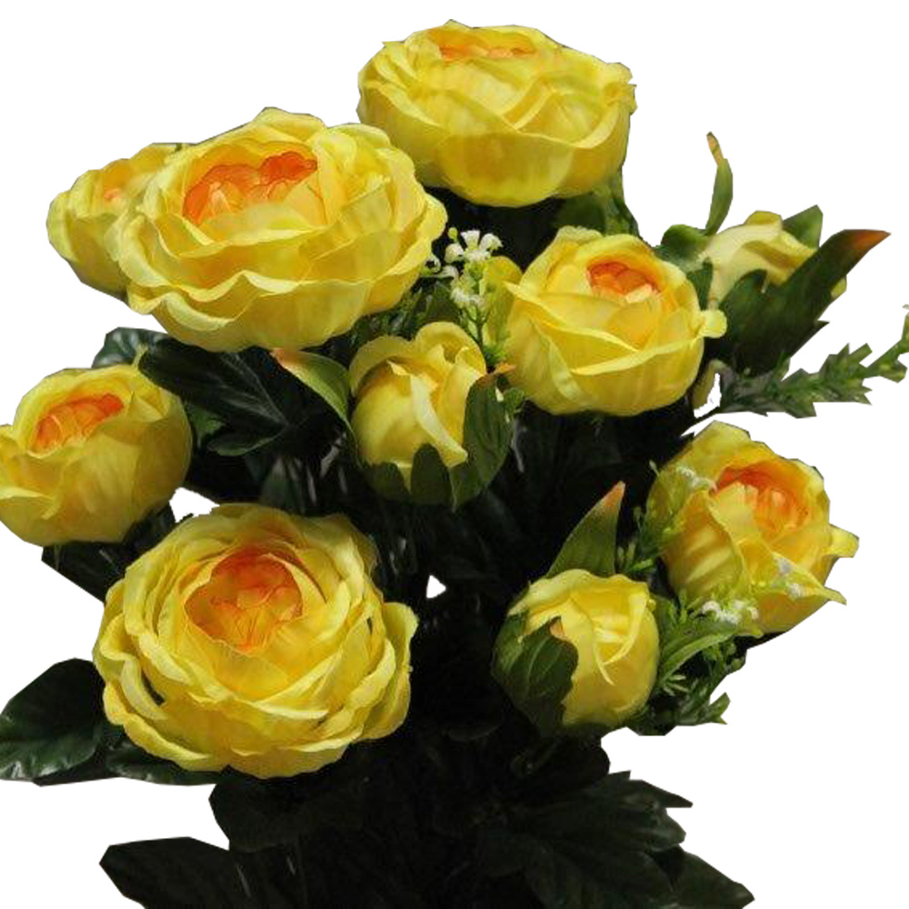 BOUQUET ROSE CABBAGE_JAUNE_1418095_J
